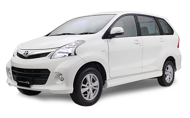 Exterior New Avanza Veloz 1.5 A/T White Color ~ New Variant ~ New Avanza Luxury