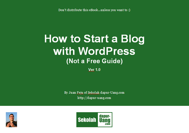 how to start a blog with wordpress not a free guide ebook
